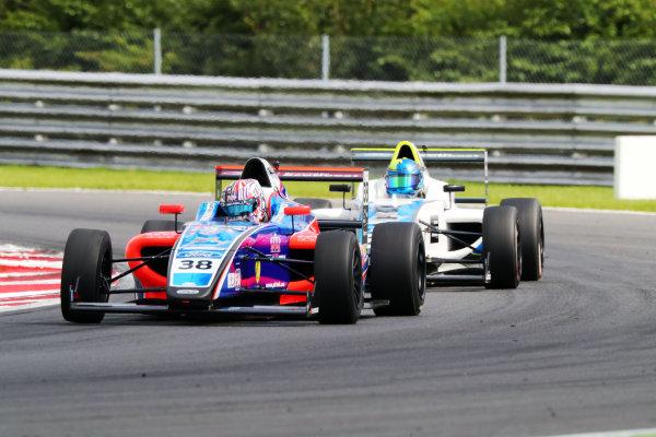 2017 British F4 Championship,  Snetterton. 29th-30th July 2017, Jamie Caroline (GBR) Carlin British F4 World copyright. JEP/LAT Photographic