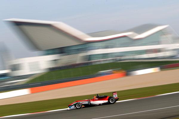 2015 FIA Formula 3 European Championship, Silverstone, Northamptonshire. 10th - 12th April 2015. Lance Stroll (CAN) Prema Powerteam Dallara Mercedes. World Copyright: Ebrey / LAT Photographic.