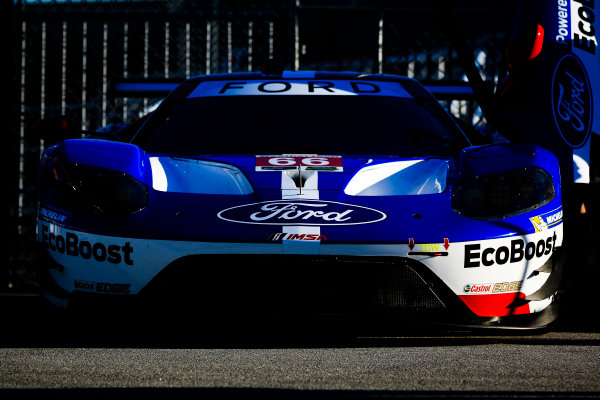 5-8 January, 2017, Daytona Beach, Florida USA 66, Ford, Ford GT, GTLM, Joey Hand, Dirk Muller, Sebastien Bourdais ?2017, Barry Cantrell LAT Photo USA