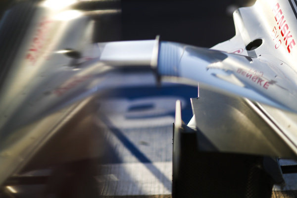 Detail of Maximilian Günther (DEU), Dragon Racing, Penske EV-3 car