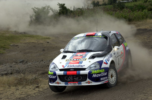 2001 World Rally Championship.Nairobi, Kenya. July 20-22, 2001Colin McRae during shakedown.Photo: Ralph Hardwick/LAT