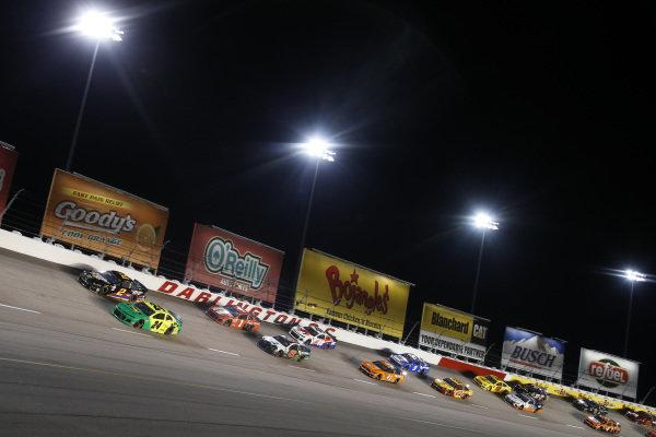 #24: William Byron, Hendrick Motorsports, Chevrolet Camaro Hendrick Autoguard/City Chevrolet Throwback #2: Brad Keselowski, Team Penske, Ford Mustang Miller Lite