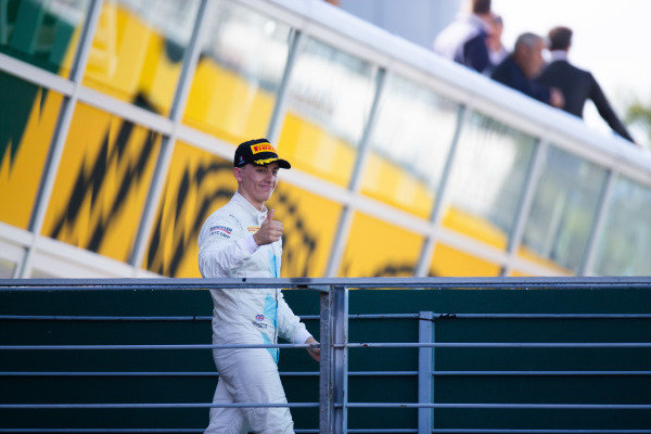 AUTODROMO NAZIONALE MONZA, ITALY - SEPTEMBER 08: Jake Hughes (GBR, HWA RACELAB) during the Monza at Autodromo Nazionale Monza on September 08, 2019 in Autodromo Nazionale Monza, Italy. (Photo by Joe Portlock / LAT Images / FIA F3 Championship)