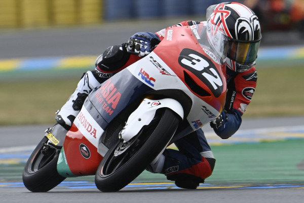 Takuma Matsuyama, Honda Team Asia.