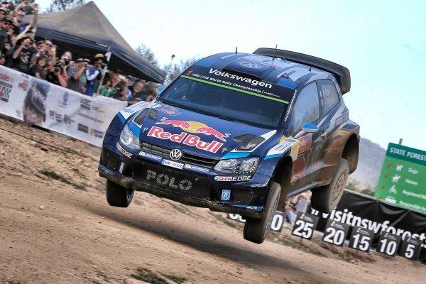 Sebastien Ogier (FRA) / Julien Ingrassia (FRA), Volkswagen Polo R WRC at FIA World Rally Championship, R10, Coates Hire Rally Australia, Day Three, Coffs Harbour, New South Wales, Australia, 13 September 2015.