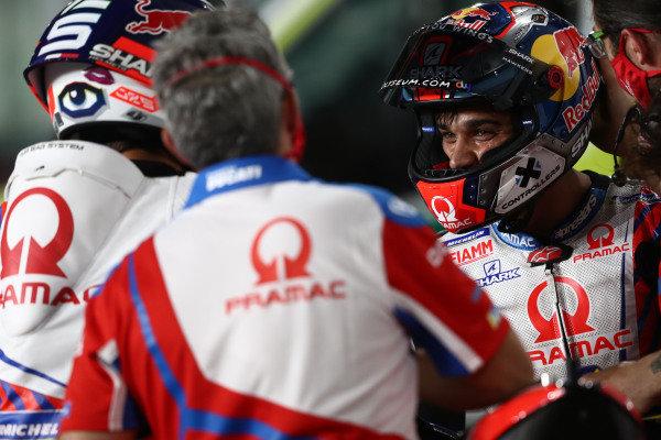 Johann Zarco, Pramac Racing Jorge Martin, Pramac Racing .