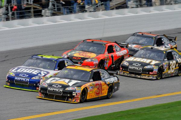 11 February 2010, Daytona Beach, Florida, USAJeff Burton and Jimmie Johnson©2010, LAT South, USALAT Photographic