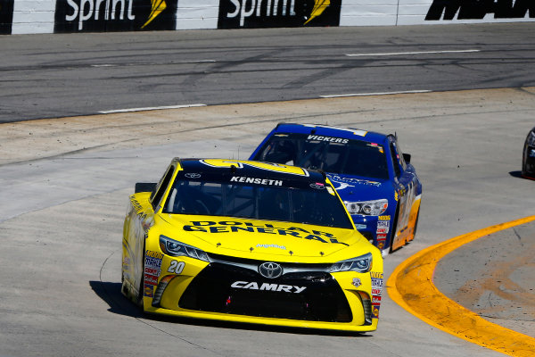 1-3 April, 2016, Martinsville, Virginia USA Matt Kenseth, Dollar General Toyota Camry and Brian Vickers ?2016, Russell LaBounty LAT Photo USA