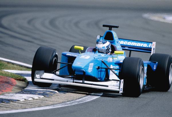 2003 International F3000 - raceSilverstone, England. 20th July 2003Giorgio PantanoWorld Copyright - LAT Photographicref: Priority F3K A0