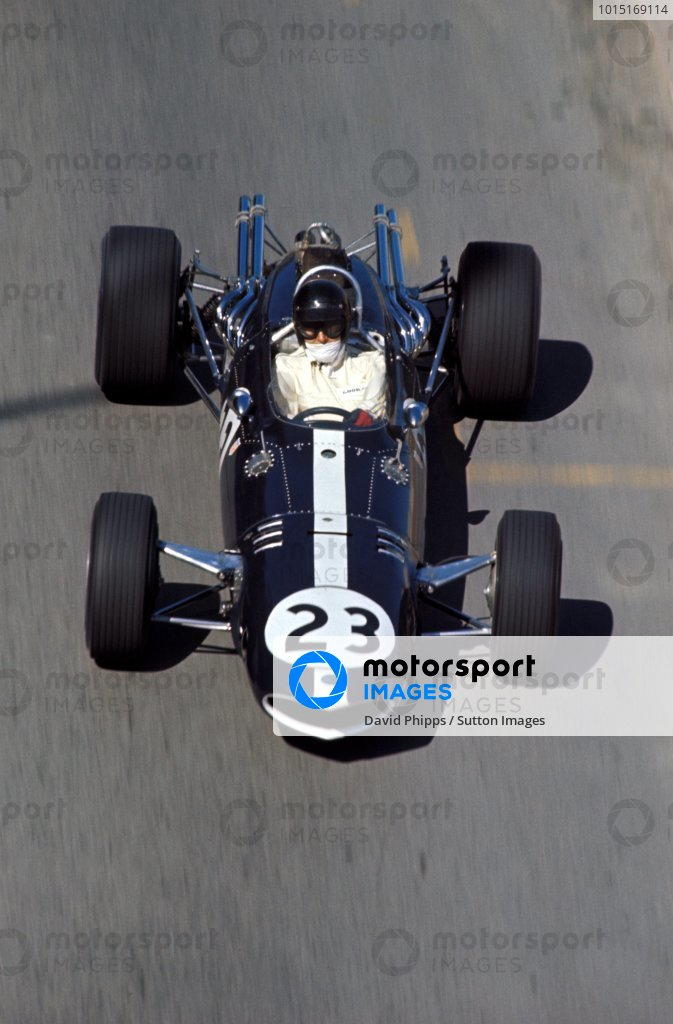 Dan Gurney (USA) Eagle Weslake T1G, retired on lap 5. Formula One World Championship, Rd2, Monaco Grand Prix, Monte-Carlo, Monaco. 7 May 1967. BEST IMAGE