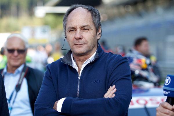 2017 DTM Round 8  Red Bull Ring, Spielberg, Austria  Saturday 23 September 2017. Gerhard Berger, ITR Chairman  World Copyright: Alexander Trienitz/LAT Images ref: Digital Image 2017-DTM-RBR-AT3-0993