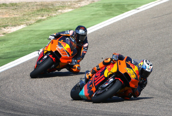 2017 MotoGP Championship - Round 14 Aragon, Spain. Sunday 24 September 2017 Pol Espargaro, Red Bull KTM Factory Racing World Copyright: Gold and Goose / LAT Images ref: Digital Image 695025