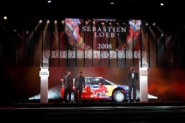 Monte Carlo, Monaco.12th December 2008.FIA World Rally Championship - SWorld Copyright & Mandatory Credit: FIAref: Digital Image FIA_Gala_121208_103