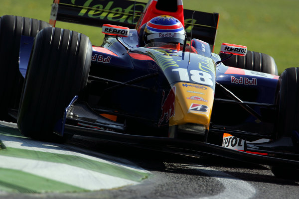 2005 GP2 Series - ImolaAutodromo Enzo e Dino Ferrari, Italy. 21st - 24th April.Friday PracticeNeel Jani (CH, Racing Engineering). Action.Photo: GP2 Series Media Serviceref: Digital Image Only.