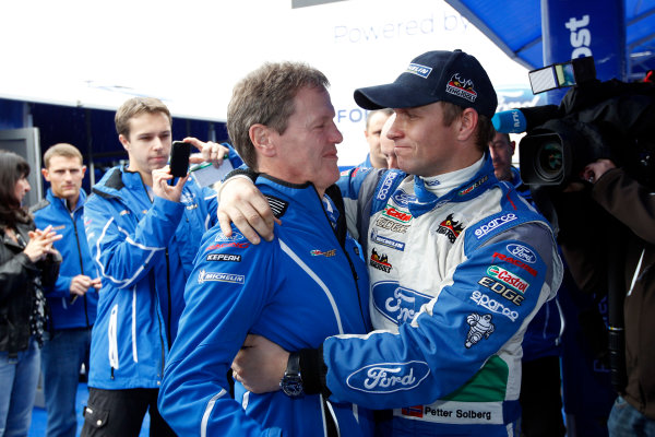 2012 FIA World Rally Championship Round 13-Rally Spain 08-11September 2012. Malcolm Wilson, Petter Solberg, Ford WRC, Portrait.. Worldwide Copyright: McKlein/LAT