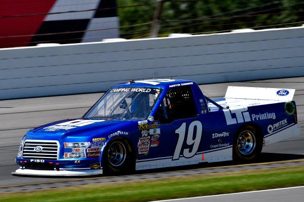 NASCAR Camping World Truck Series Overton's 150 Pocono Raceway, Long Pond, PA USA Saturday 29 July 2017 Austin Cindric, LTi Printing Ford F150 World Copyright: Rusty Jarrett LAT Images