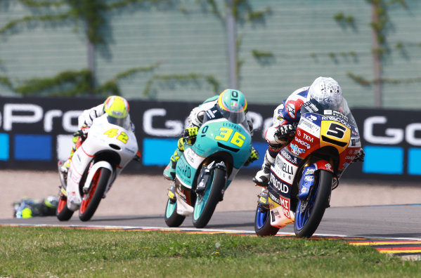 2017 Moto3 Championship  - Round 9 Sachsenring, Germany Sunday 2 July 2017 Romano Fenati, Marinelli Rivacold Snipers World Copyright: David Goldman/LAT Images ref: Digital Image 34496
