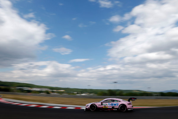 2017 DTM Round 3 Hungaroring, Budapest, Hungary. Sunday 18 June 2017. Lucas Auer, Mercedes-AMG Team HWA, Mercedes-AMG C63 DTM World Copyright: Alexander Trienitz/LAT Images ref: Digital Image 2017-DTM-R3-HUN-AT2-1327