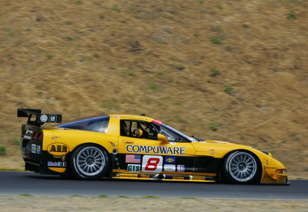 2004 American Le Mans Series (ALMS)Infineon Grand Prix of Sonoma, Sears Point. 16th - 18th July. Dale Earnhardt Jr. at speed.World Copyright: Richard Dole/LAT Photographicref: Digital Image Only