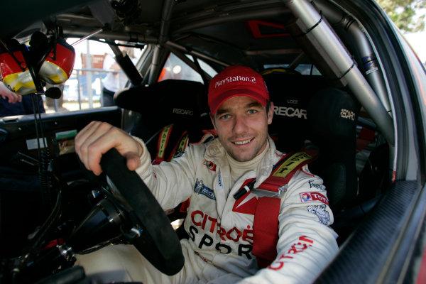 2004 FIA World Rally Champs. Round Sixteen, Rally Australia.11th - 14th November 2004.Sebastien Loeb, Citroen, portrait.World Copyright: McKlein/LAT