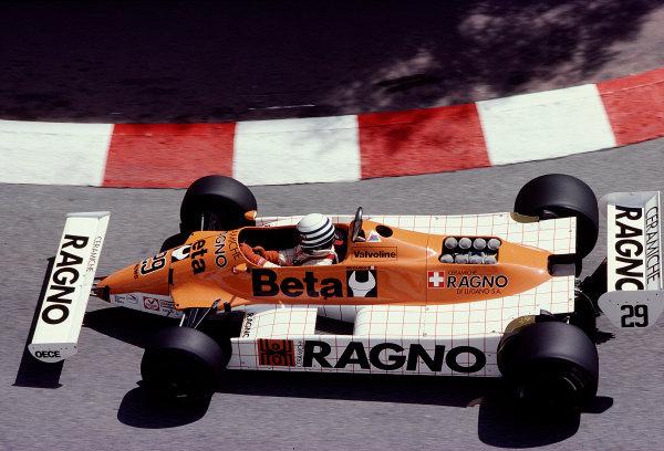 1981 Monaco Grand Prix. Monte Carlo, Monaco. 28-31 May 1981. Riccardo Patrese (Arrows A3 Ford). Ref-81MON73. World Copyright - LAT Photographic