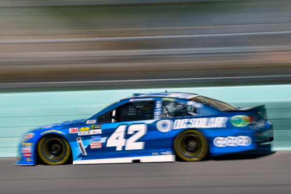 Monster Energy NASCAR Cup Series Ford EcoBoost 400 Homestead-Miami Speedway, Homestead, FL USA Saturday 18 November 2017 Kyle Larson, Chip Ganassi Racing, Credit One / DC Solar Chevrolet SS World Copyright: Nigel Kinrade LAT Images