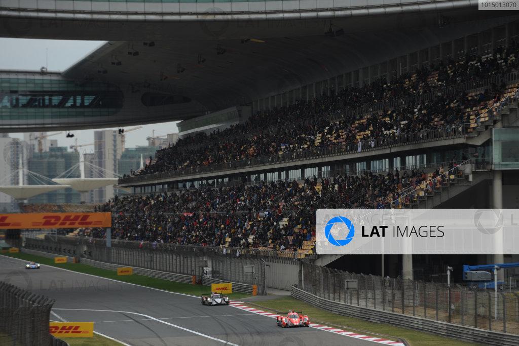 2017 FIA World Endurance Championship, Shanghai, China. 3rd-5th November 2017, #25 CEFC Manor TRS Team China ORECA 07-Gibson: Roberto Gonzalez, Simon Trummer, Vitaly Petrov  World Copyright. JEP/LAT Images