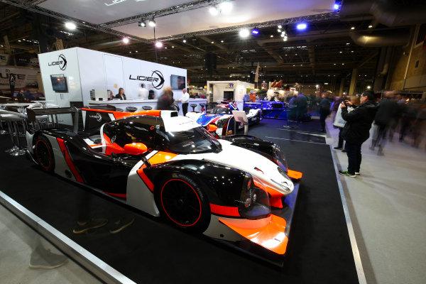 Autosport International Exhibition. National Exhibition Centre, Birmingham, UK. Sunday 14th January 2018. The Ligier stand.World Copyright: Mike Hoyer/JEP/LAT Images Ref: AQ2Y9741