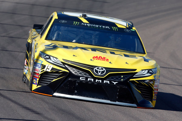 Monster Energy NASCAR Cup Series Can-Am 500 Phoenix Raceway, Avondale, AZ USA Friday 10 November 2017 Daniel Suarez, Joe Gibbs Racing, STANLEY Toyota Camry World Copyright: Lesley Ann Miller LAT Images
