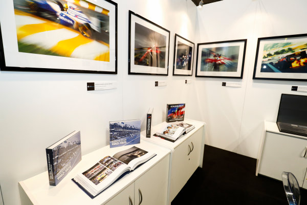 Autosport International Exhibition. National Exhibition Centre, Birmingham, UK. Thursday 11th January 2017. The LAT Stand.World Copyright: Ashleigh Hartwell/LAT Images Ref: _O3I7558