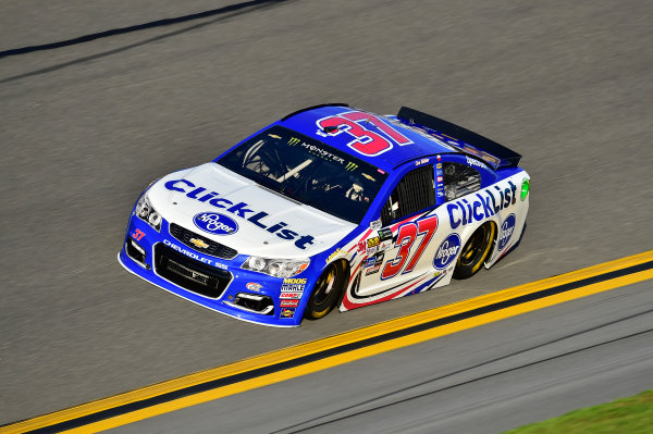 2017 NASCAR Cup - Clash at Daytona Daytona International Speedway, Daytona Beach, FL USA Friday 17 February 2017 Chris Buescher World Copyright: John Harrelson/LAT Images  ref: Digital Image _JH39569