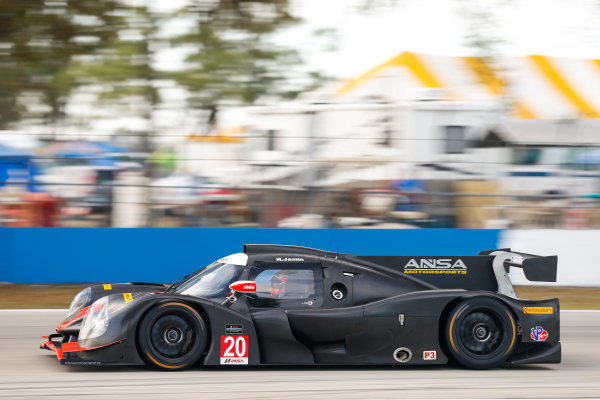 2017 IMSA Prototype Challenge Sebring International Raceway, Sebring, FL USA Friday 17 March 2017 20, Nicolas Jamin, P3, Ligier JS P3 World Copyright: Jake Galstad/LAT Images ref: Digital Image lat-galstad-SIR-0317-14951