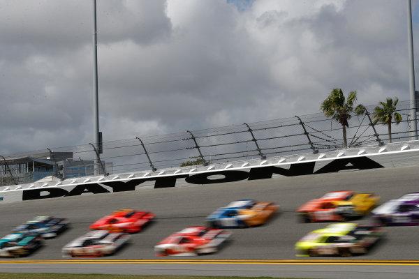 2017 Xfinity - Powershares QQQ 300 Daytona International Speedway, Daytona Beach, FL USA Friday 24 February 2017 Daytona sign World Copyright: Michael L. Levitt/LAT Images ref: Digital Image levitt-0217-D500_23033