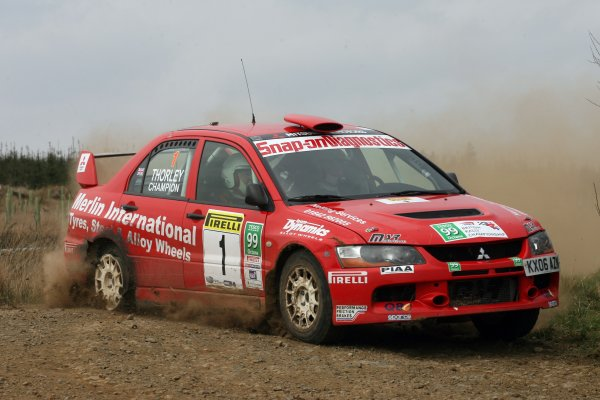 2007 British Rally Championship,Pirelli International Rally, Carlisle, Cumbria. 20th-21st April 2007.Ryan ChampionWorld Copyright: Ebrey/LAT photographic.
