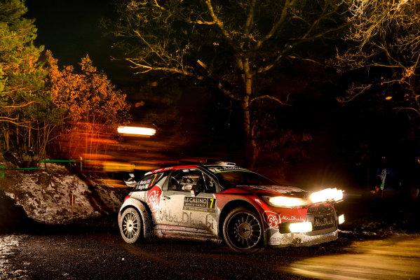 2016 FIA World Rally Championship, Round 01, Rally Monte Carlo, 21st - 24th January, 2016 Kris Meeke, Citroen, action Worldwide Copyright: McKlein/LAT