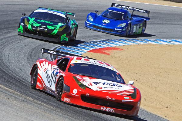 7-9 September, 2012, Monterey, California USAThe #69 Ferrari of Jeff Segal and Emil Assentato  is shown in action.©2012, R D. EthanLAT Photo USA