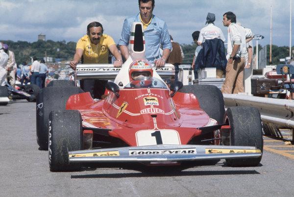 Kyalami, South Africa. 4-6 March 1976. Niki Lauda, Ferrari 312T. Ref: 76SA20. World Copyright - LAT Photographic