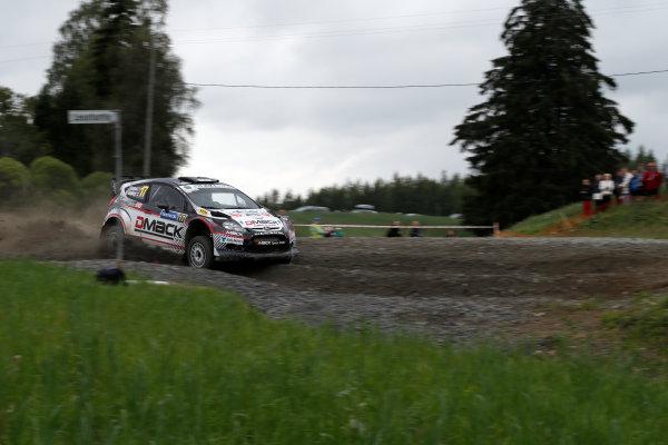 Round 08-Neste Rally Finland 1/8-4/8 2012.Jari Ketomaa, Ford WRC, Action.Worldwide Copyright: McKlein/LAT