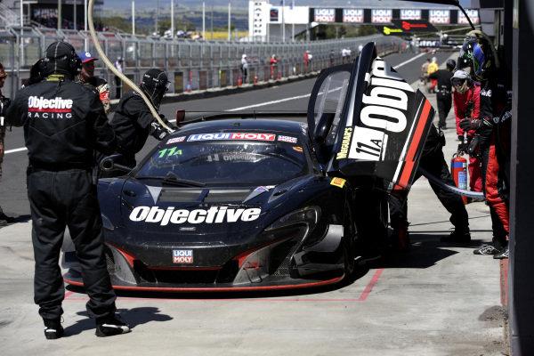 #11 Objective Racing McLaren 650S: Tony Walls, Warren Luff, Andrew Watson.