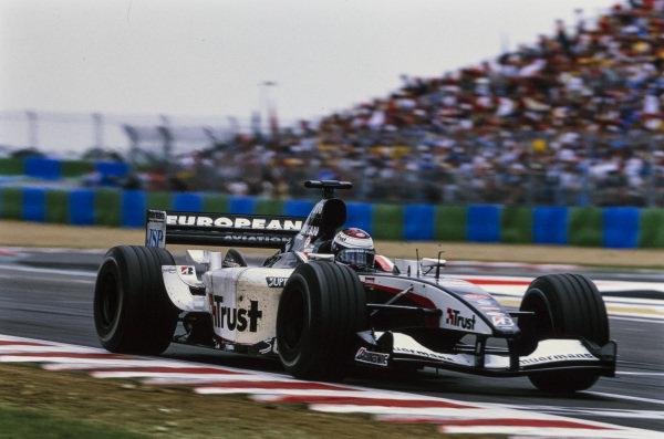 Jos Verstappen, Minardi PS03 Cosworth.