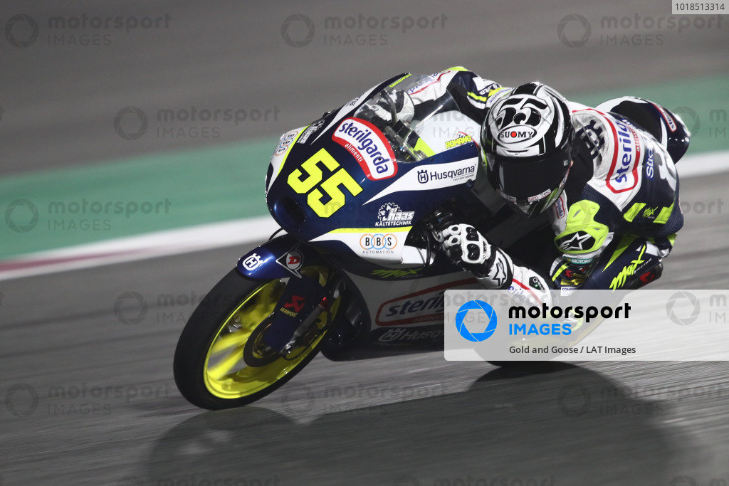 Romano Fenati, Max Racing Team.