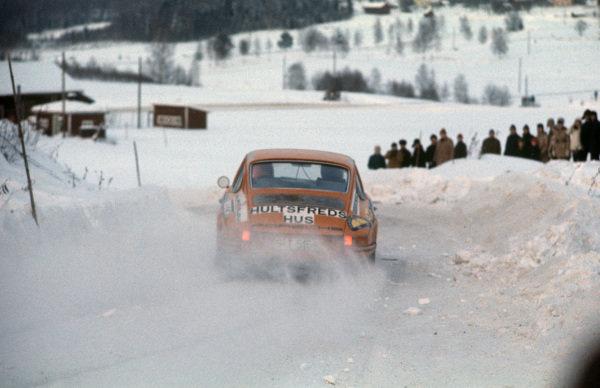 Björn Waldegård / Lars Helmér, Porsche 911.