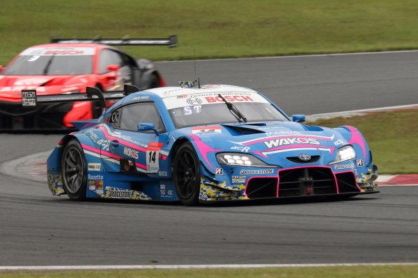 Kazuya Oshima & Sho Tsuboi ( #14 WAKO'S 4CR GR Toyota Supra ) GT500 2nd position