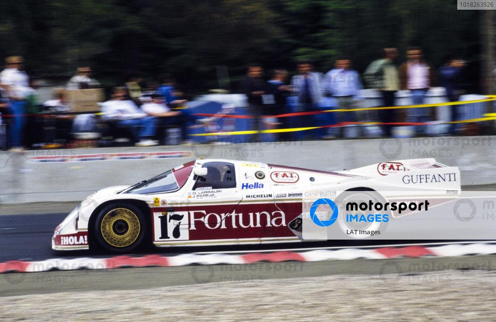 Oscar Larrauri / Jésus Pareja / Joël Gouhier, Brun Motorsport, Porsche 962 C.
