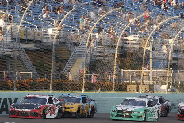 #20: Christopher Bell, Joe Gibbs Racing, Toyota Supra Rheem-Watts #22: Austin Cindric, Team Penske, Ford Mustang MoneyLion