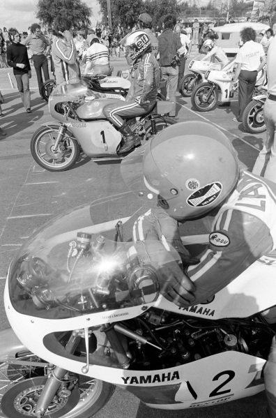Tepi Länsivuori, Yamaha, alongside Phil Read, MV Agusta.