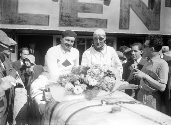 Boris Ivanowski and Henri Stoffel.