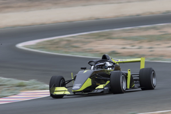 Track action in the WSeries Tatuus F3 T-318 car