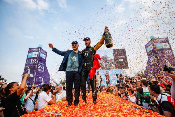 Jean-Eric Vergne (FRA), DS TECHEETAH, celebrates victory
