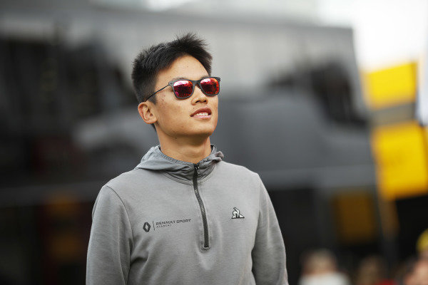 SPA-FRANCORCHAMPS, BELGIUM - AUGUST 29: YE YIFEI (CHI, HITECH GRAND PRIX) during the Spa-Francorchamps at Spa-Francorchamps on August 29, 2019 in Spa-Francorchamps, Belgium. (Photo by Joe Portlock / LAT Images / FIA F3 Championship)